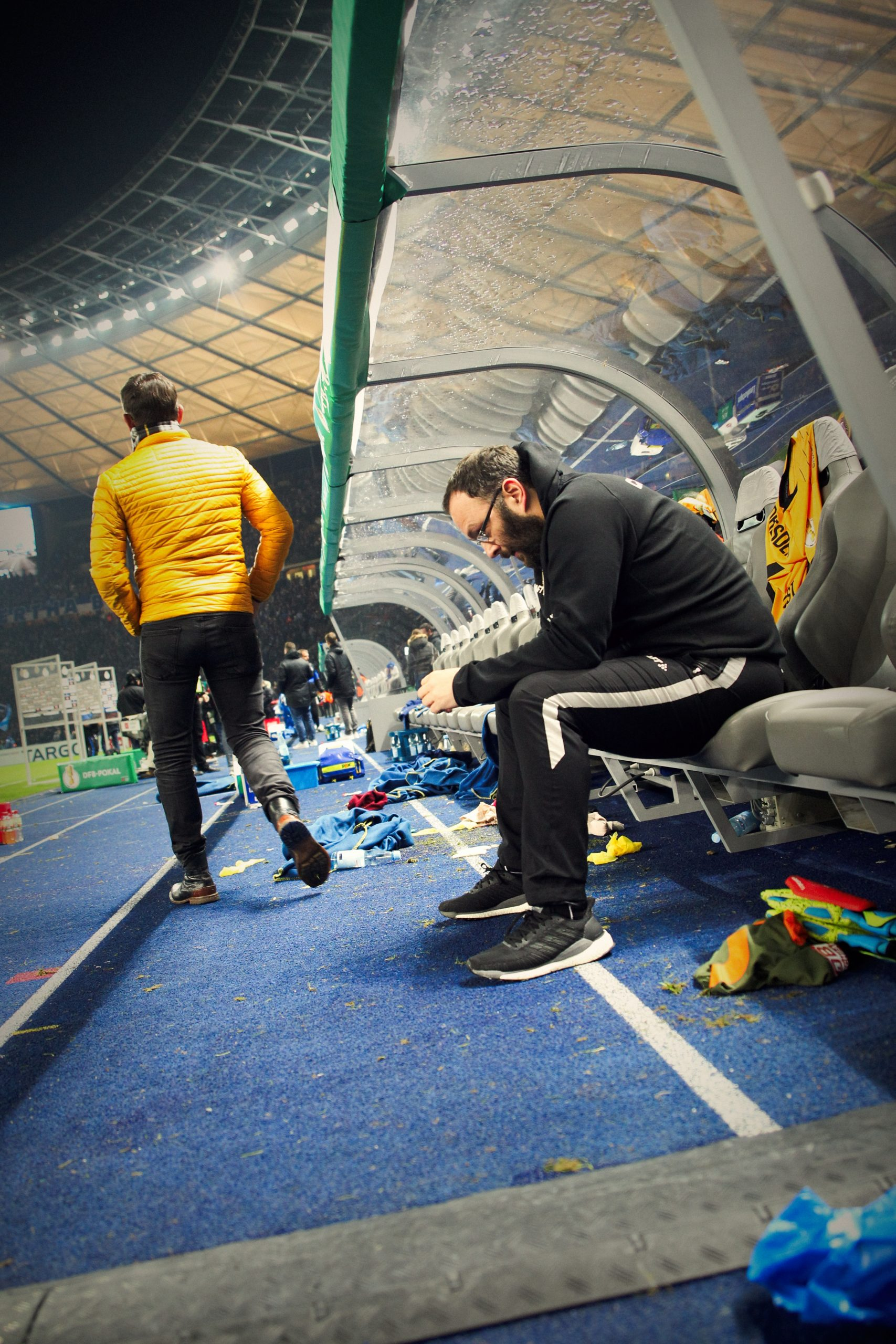 19-20 Pokal - Hertha BSC vs. SG Dynamo Dresden