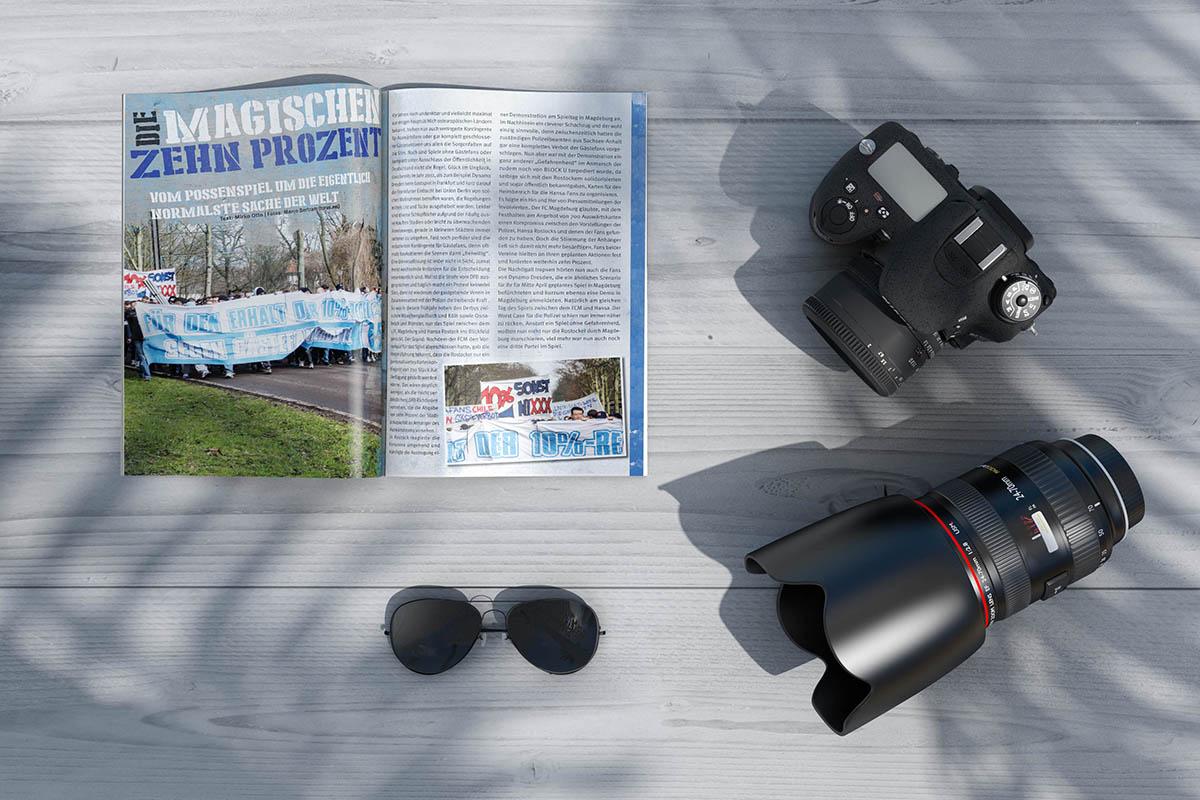 Running Riot x Magazine Wir lieben Grafikdesign und Mediengestaltung, Layout und Kreation, Marketing und Werbung.