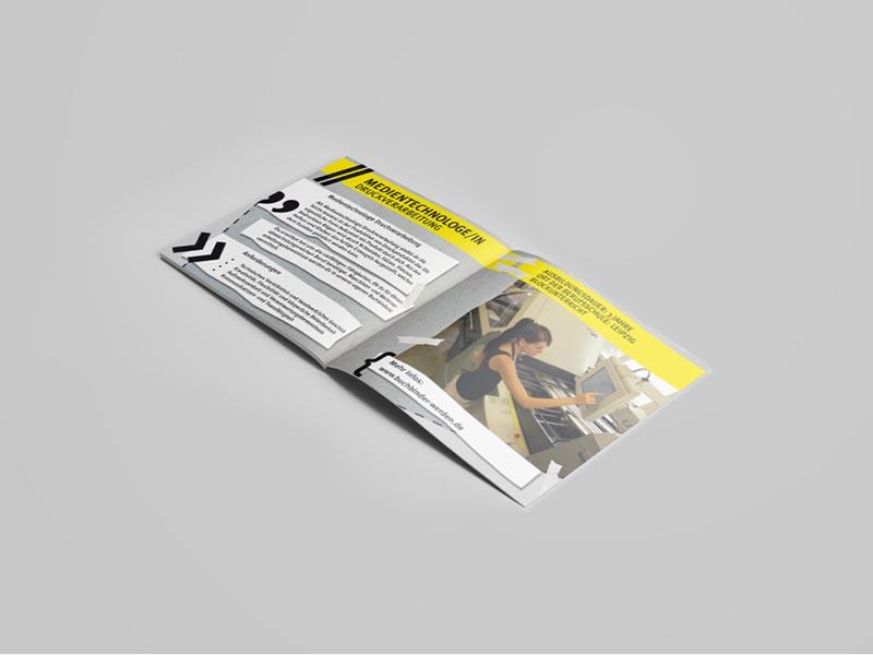 Running Riot x Broschüren. Wir lieben Grafikdesign, Mediengestaltung, Layout, Kreation und Marketing.